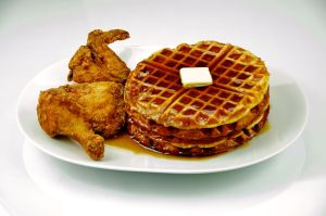 By Evan Swigart from Chicago, USA (Chicken and Waffles 201) [CC-BY-2.0 (http://creativecommons.org/licenses/by/2.0)], via Wikimedia Commons
